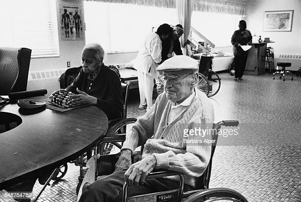 A 97 yearold resident at a care home in Southfield Michigan USA November 1998