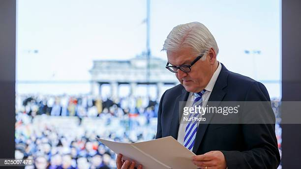 25 years after the down of the Berliner wall Foreign Secretary Steinmeier appreciates the courage of the people in Germany and Europe whose freedom...