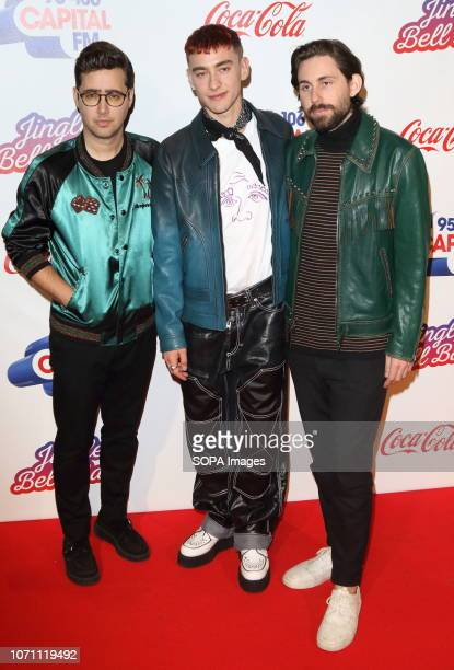 Years and Years at Capital's Jingle Bell Ball with CocaCola during day two at The O2 Peninsula Square
