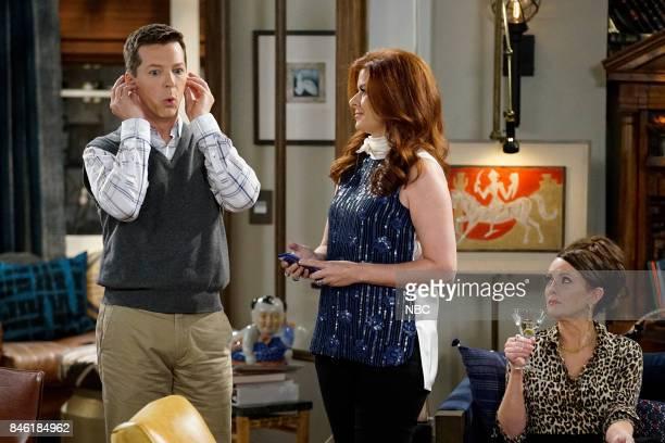 WILL GRACE '11 Years Later' Episode 101 Pictured Sean Hayes as Jack McFarland Debra Messing as Grace Adler Megan Mullally as Karen Walker