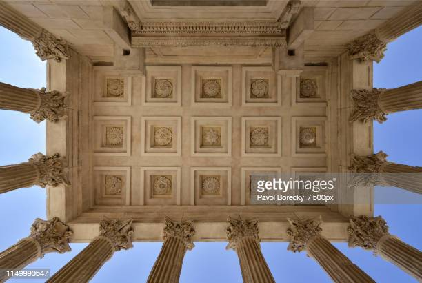 years of beauty - nimes stock pictures, royalty-free photos & images
