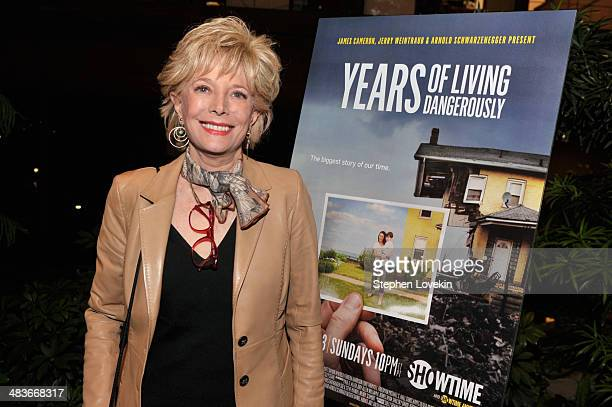 Years of Living Dangerously correspondent Lesley Stahl attends the Showtime screening of Years Of Living Dangerously at Ford Foundation's New York...