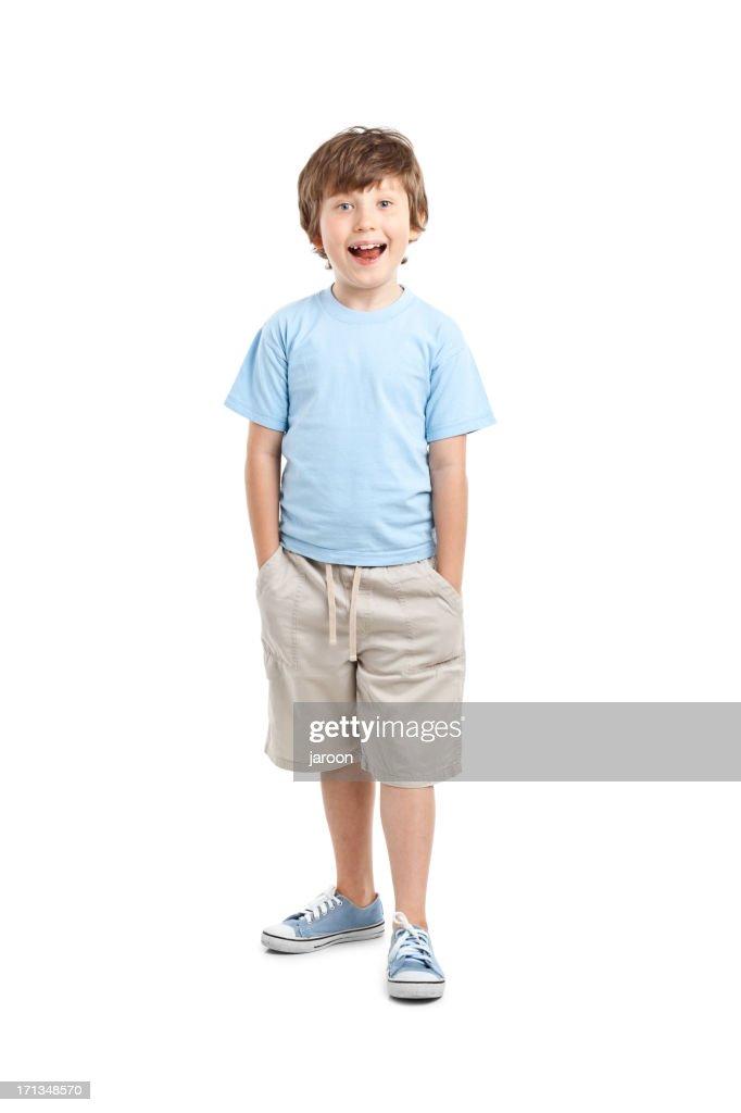 8 Year Boy Bedroom Design: 8 Years Old Boy Stock Photo