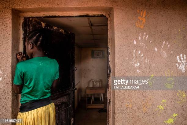 A 12 years old girl internally displaced from the Borno State and who had escaped the Boko Haram insurgency is seen in this July 5 2019 She had...