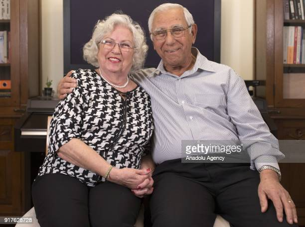 76 years old housewife Gulser Ercan and 77 years old retired engineer Suleyman Ercan couple married for 51 years grandparents of four and parents of...