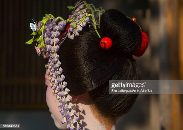 16 years old maiko called chikasaya kansai region kyoto Japan on May 27 2016 in Kyoto Japan