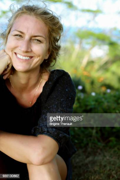 43 years old natural women look, happiness facial expressions