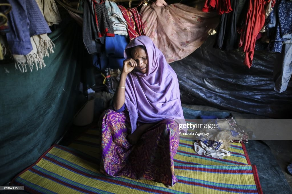 Women victims of the military crackdown in Myanmar : News Photo
