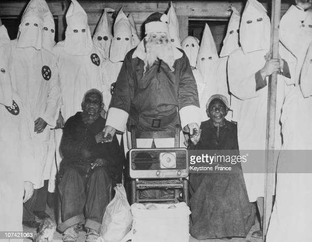 Years Old Slave Hearing The Preacher Of The Ku Klux Klan In Usa