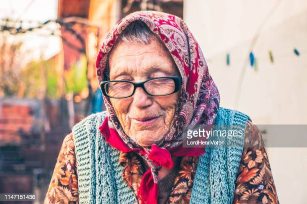 90 years old woman