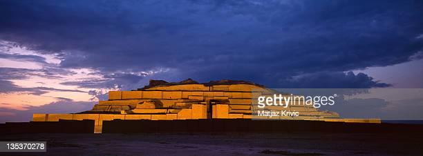 A 3000 years old Ziggurat of Chogha Zanbil near town of Susa on June 20 2005 in Chogha Zanbil Iran
