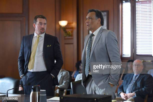 LAW 25 Years to Life Episode 103 Pictured Barry Sloane as Jake Reilly Jimmy Smits as Elijah Strait