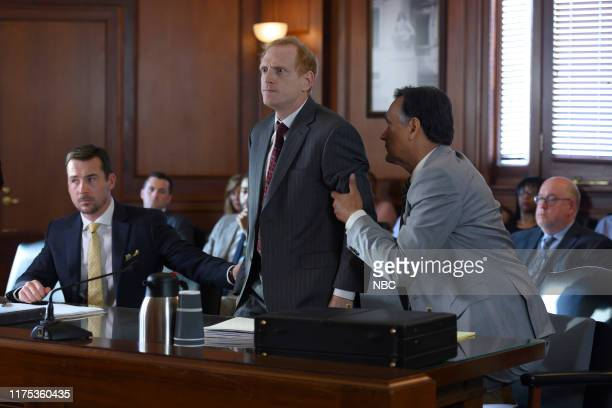 LAW 25 Years to Life Episode 103 Pictured Barry Sloane as Jake Reilly Scott Shepherd as George Bell Jimmy Smits as Elijah Strait