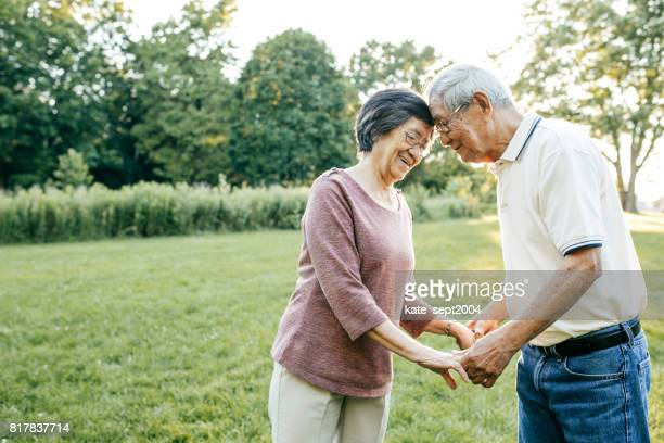 50 years together - asian and indian ethnicities stock pictures, royalty-free photos & images
