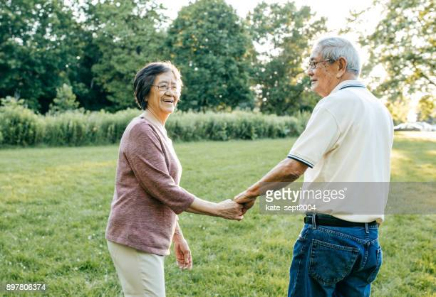 50 years together - monogamous animal behavior stock photos and pictures