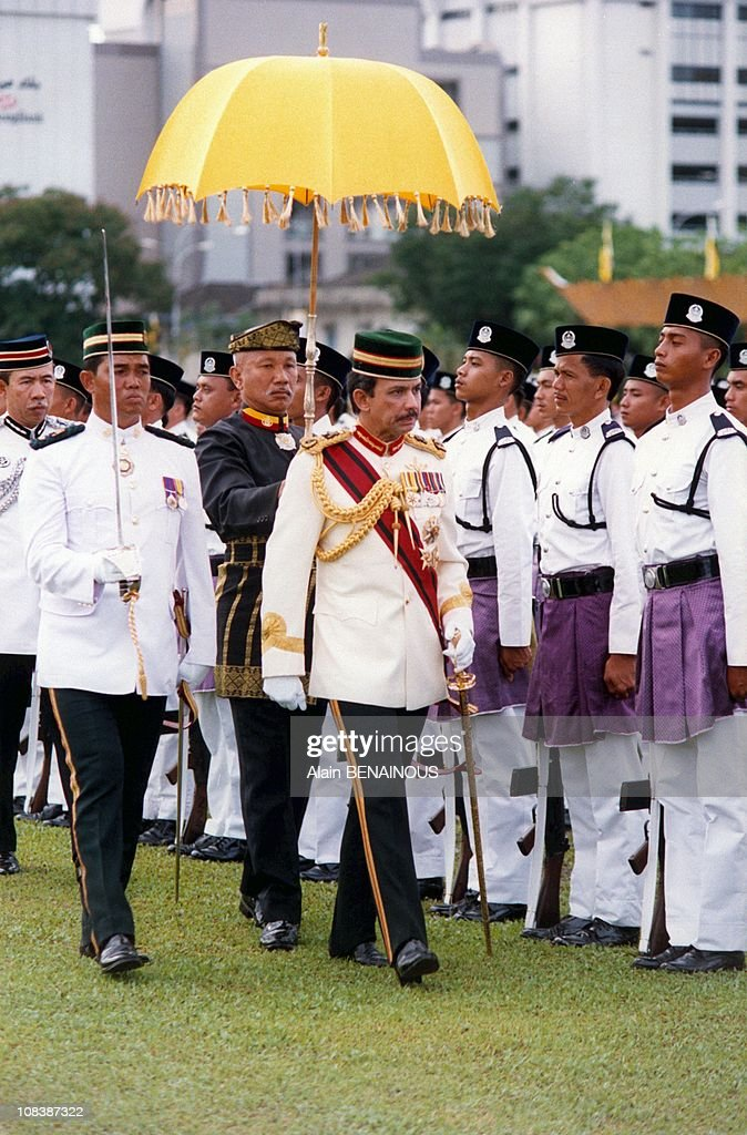 25 Years Under Reign Of Sultan Hassanal /Bru In Brunei Darussalam On October 01, 1992. : News Photo