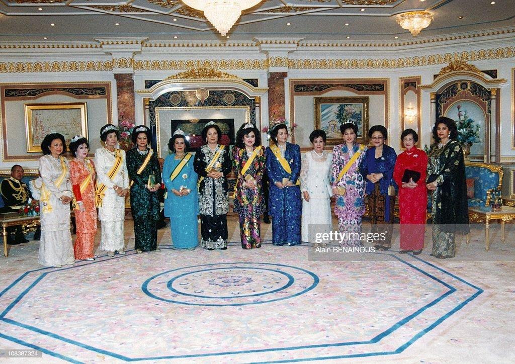 25 Years Under Reign Of Sultan Hassanal /Bru In Brunei Darussalam On October 01, 1992. : News Photo