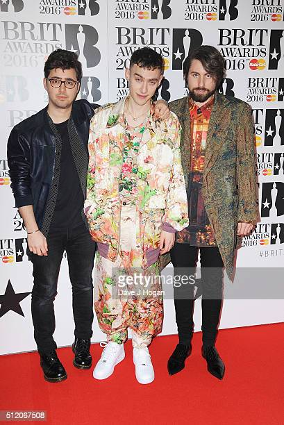 Years Years attends the BRIT Awards 2016 at The O2 Arena on February 24 2016 in London England