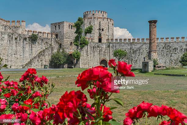 CONTENT] Yedikule Fortress is located in the Yedikule neighbourhood of Fatih Istanbul Turkey It was built in 1458 by adding three new towers to a...