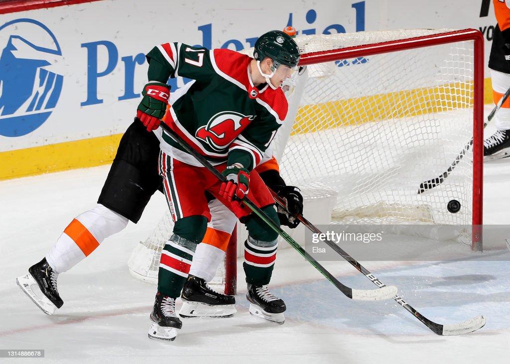 Philadelphia Flyers v New Jersey Devils : Fotografia de notícias