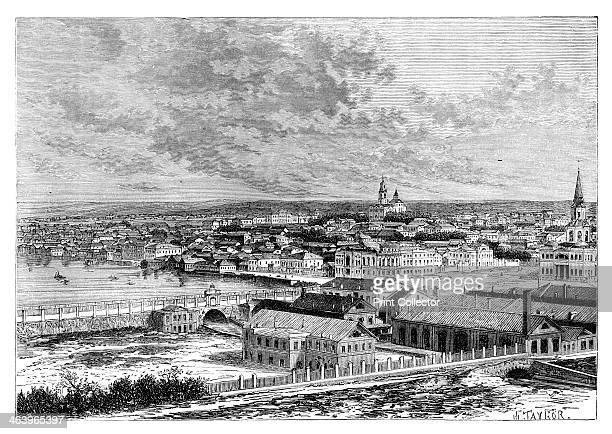Yekaterinburg Russia 1895 From The Universal Geography with Illustrations and Maps division XII written by Elisee Reclus and published by Virtue Co...