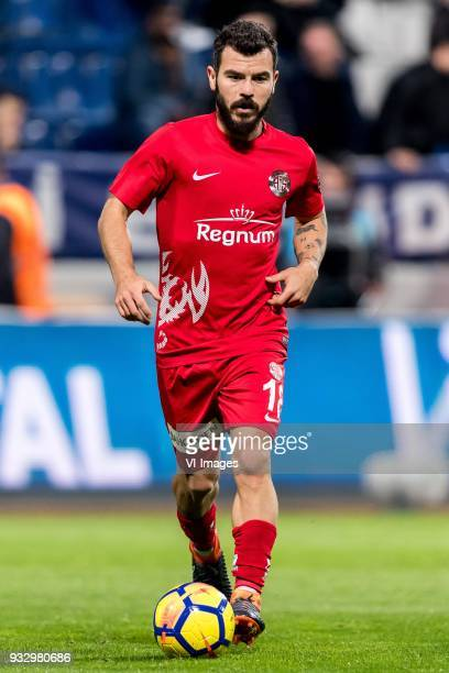 Yekta Kurtulus of Antalyaspor AS during the Turkish Spor Toto Super Lig match between Kasimpasa AS and Antalyaspor AS at the Recep Tayyip...