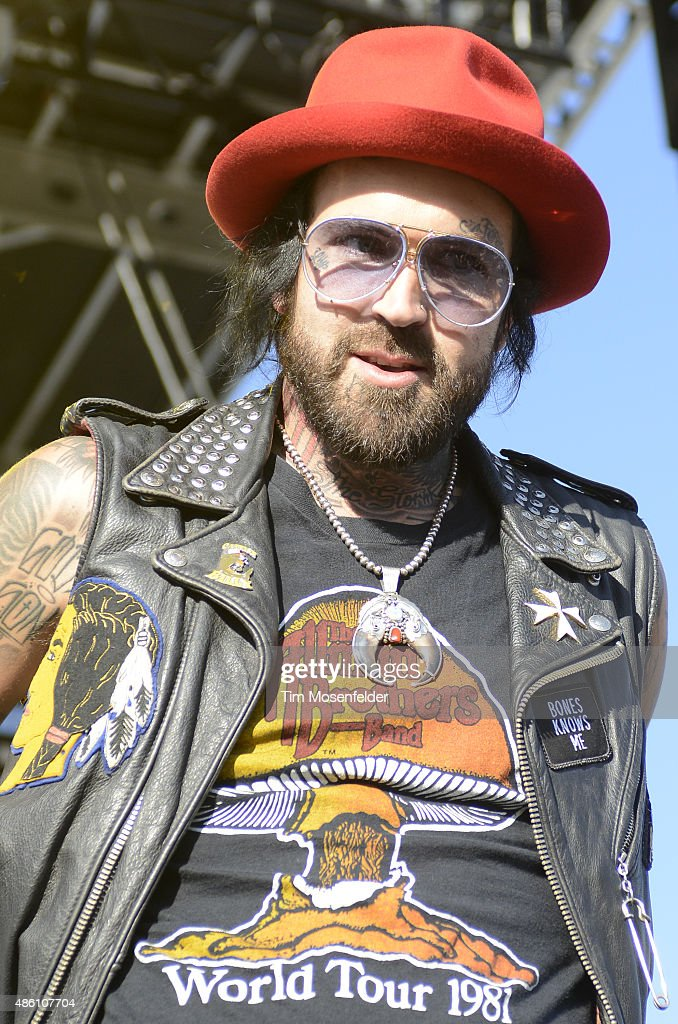 Yelawolf performs during Riot Fest 2015 at the National Western Complex on August 30, 2015 in Denver, Colorado.