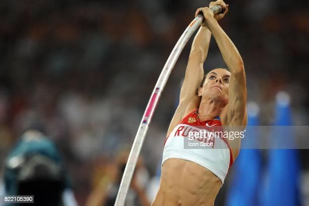 Yelena ISINBAYEVA Saut a la perche Jeux Olympiques Pekin 2008