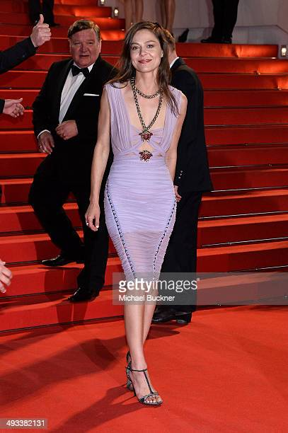 Yelena Lyadova attends the 'Leviathan' premiere during the 67th Annual Cannes Film Festival on May 23 2014 in Cannes France