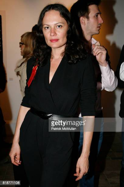 Yelena Yemchuk attends DREW DOGGETT Photography hosted by HELENA CHRISTENSEN NEIL GRAYSON to benefit Nepal Trust at Dactyl Foundation on April 17...