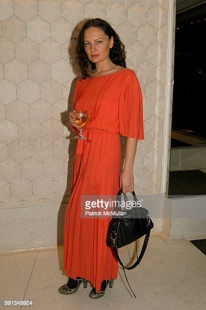 Yelena Yemchuk attends Helena Christensen Kirsty Hume Donovan Leitch Fernanda Tavares and The Human Society host The Fur Free Party at Stella...