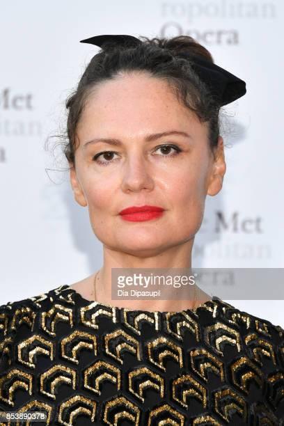 Yelena Yemchuk attends the 2017 Metropolitan Opera Opening Night at The Metropolitan Opera House on September 25 2017 in New York City