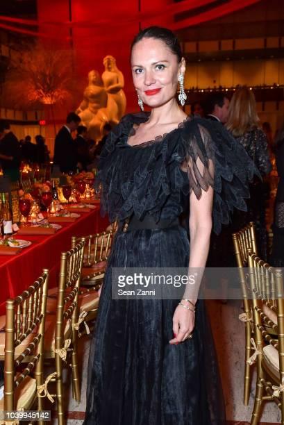 Yelena Yemchuk attends The Metropolitan Opera Opening Night Gala SaintSaens' 'Samson et Dalila' at Lincoln Center on September 24 2018 in New York...