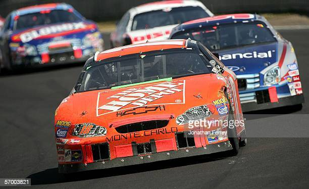 Yeley drives his Home Depot Chevrolet during the NASCAR Busch Series Telcel-Motorola 200 on March 5, 2006 at Autodromo Hermanos Rodriguez in Mexico...