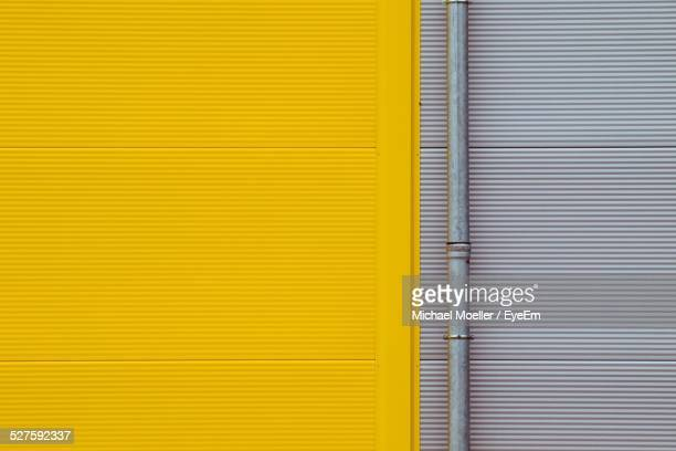 Yellow And Gray Wall