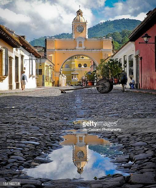 Yellow arches of Antigua
