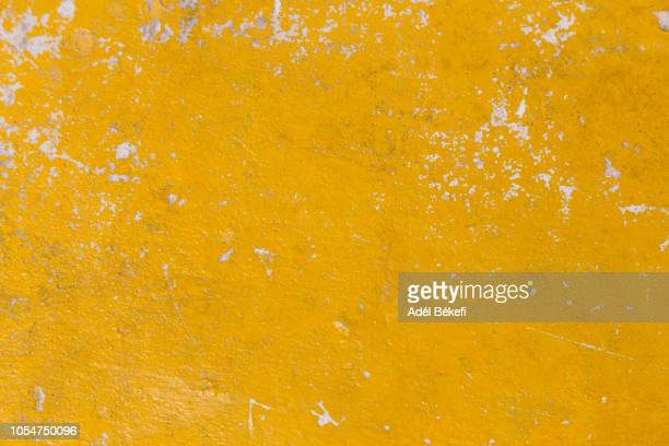 yellow background - paint textures stock pictures, royalty-free photos & images