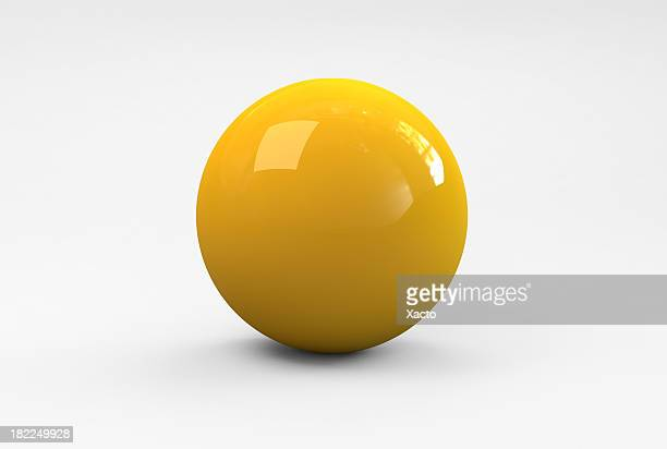 Gelbe Ball