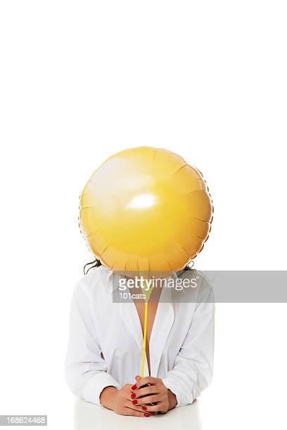 Gelbe balloon