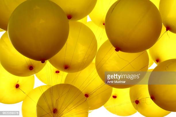 Yellow Baloons