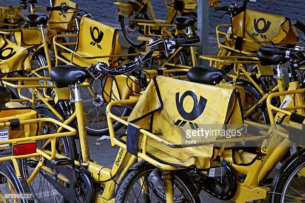 Gelbe Fahrräder
