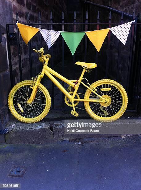 Yellow bike , Harrogate