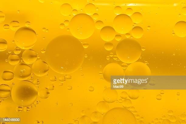 Gelbe bubbles