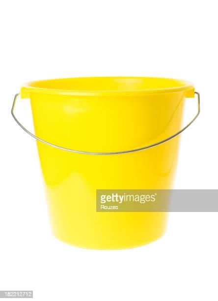 Gelbe Bucket