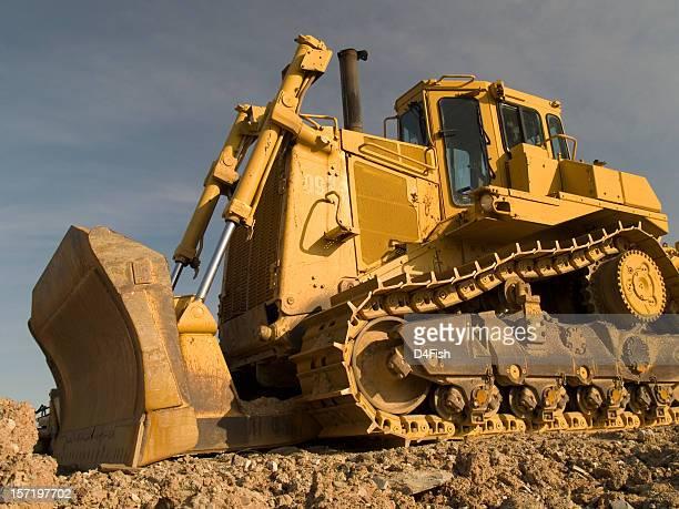 Bulldozer giallo