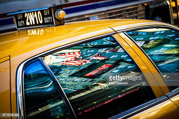 Yellow cab, New York City