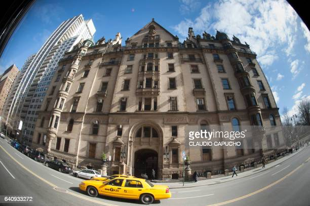 yellow cabs in nyc - claudio capucho stock photos and pictures