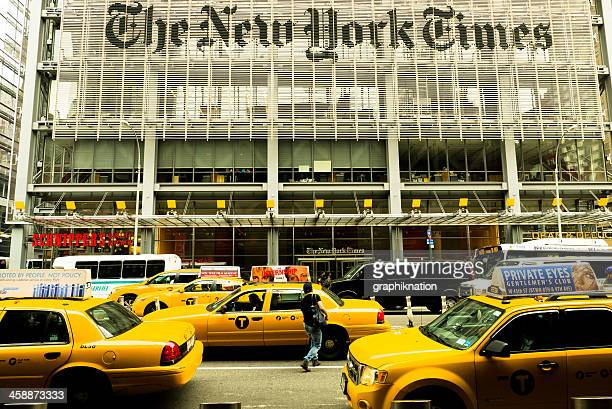 Yellow Cabs in TimesSquare, New York Times