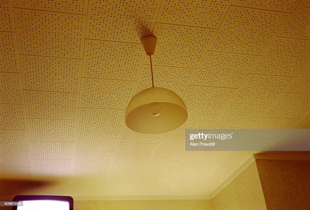 Yellow ceiling : Foto de stock