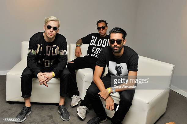 Yellow Claw backstage during Ultra Music Festival at Bayfront Park Amphitheater on March 27 2015 in Miami Florida